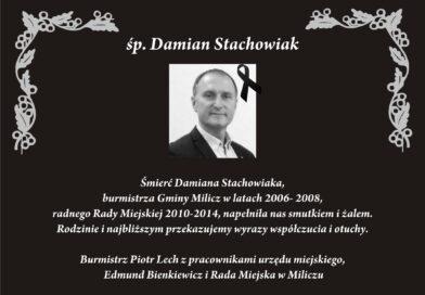 Zmarł Damian Stachowiak
